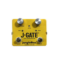JangleBox J-Gate Noise Suppression Gate Guitar Effect Pedal Handmade.