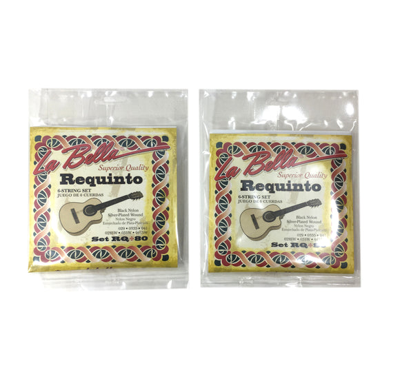Requinto Cuerdas de La Bella String 2 Sets  of 6 Strings - Juego de 6 Cuerdas - Nylon.