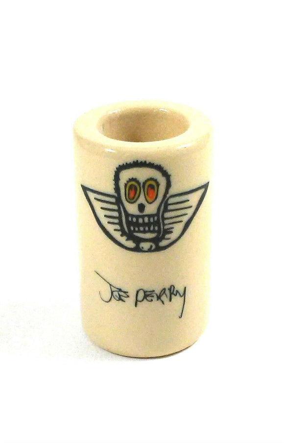 Dunlop Guitar Slide  Joe Perry Boneyard Slide 258 Large - Short Porcelain Ring 9.