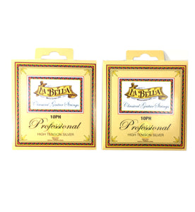 La Bella Guitar Strings - 2 Pack - Classical  Professional Series High Tension Silver