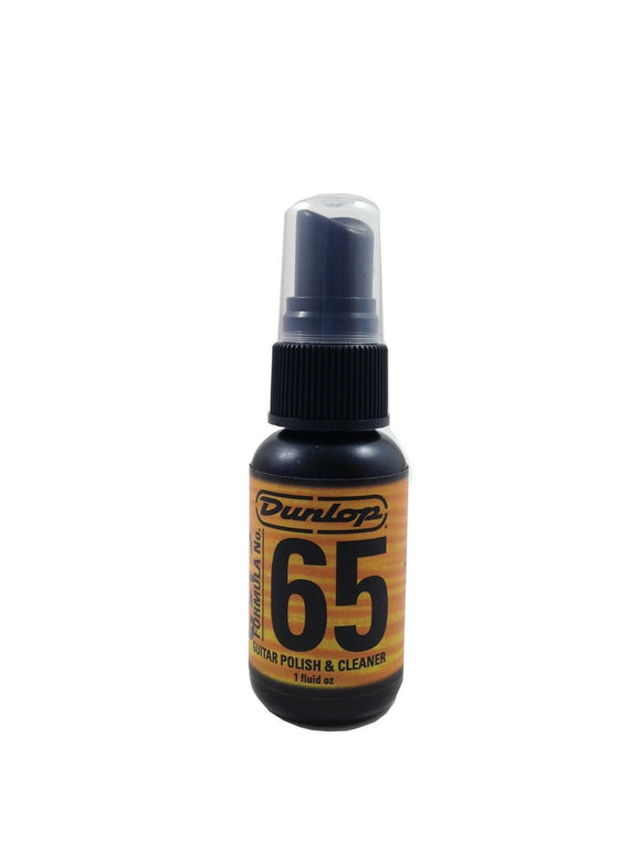 Dunlop Formula 65 Guitar Polish and Cleaner Spray Bottle 1oz