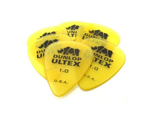 Dunlop Guitar Picks  6 Pack  Ultex Standard 1.0 (421P1.00)