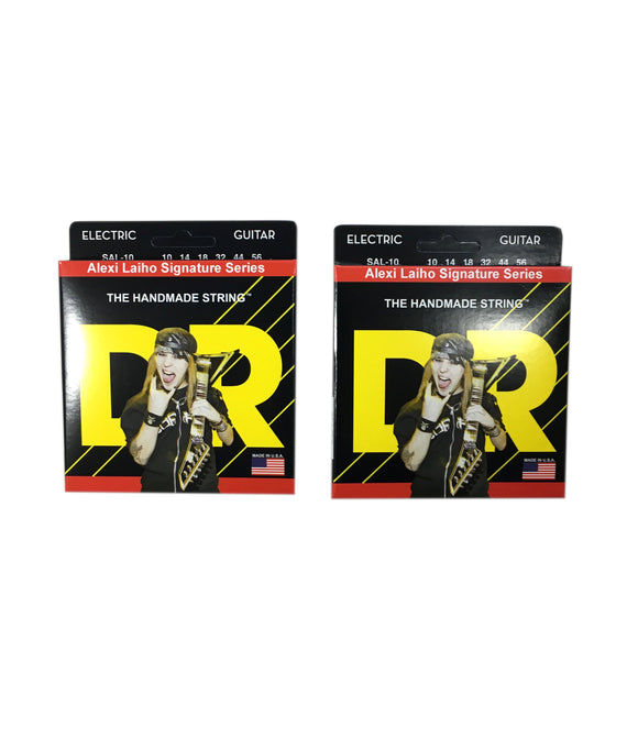 DR Guitar Strings 2-Pack Electric Alexi Laiho Signature Series 10-56 SAL-10