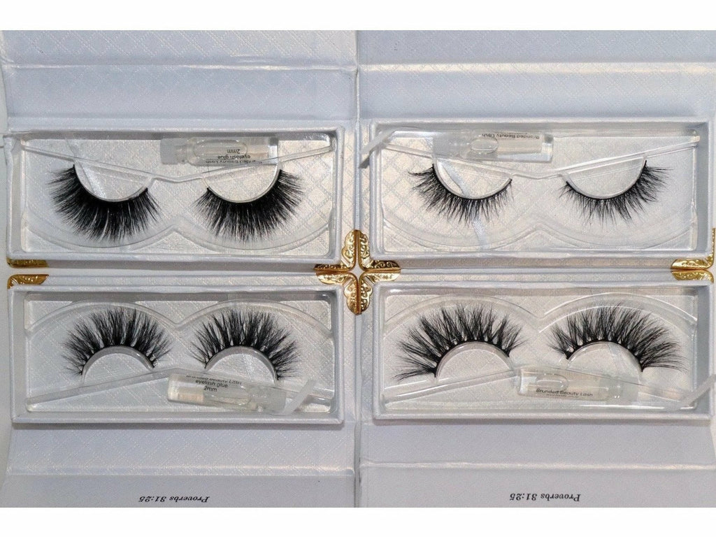 Branded Beauty Strip Lashes