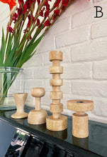 Load image into Gallery viewer, Jameela Candle Holders - Natural