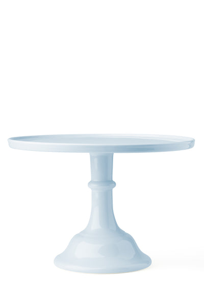 Ceramic Cake Stand Baby Blue Large