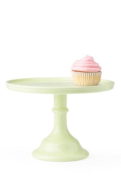 Ceramic Cake Stand Mint Green Medium