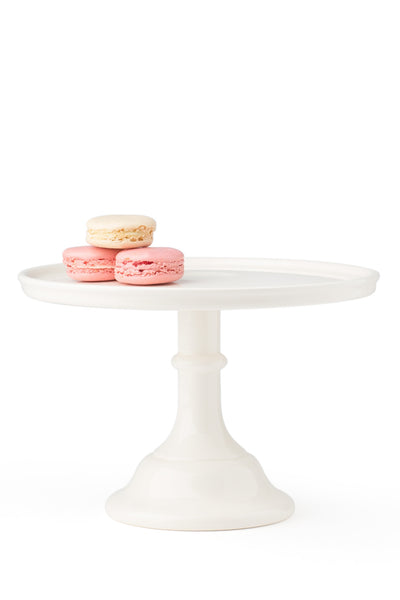 Ceramic Cake Stand Off-White Medium