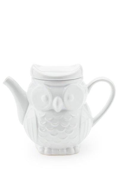 Owl Teapot with Lid