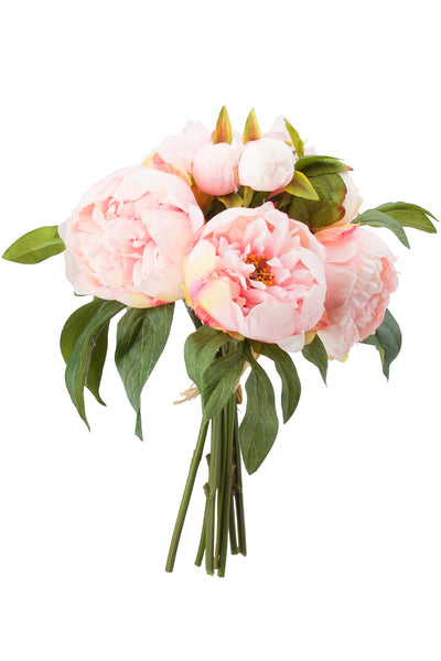 Peonies Bouquet Pale Pink