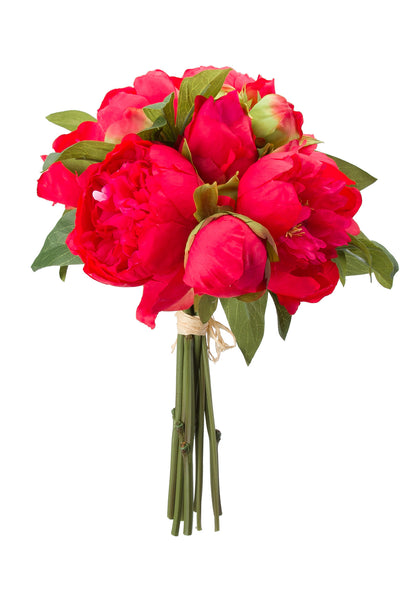 Peonies Bouquet Red