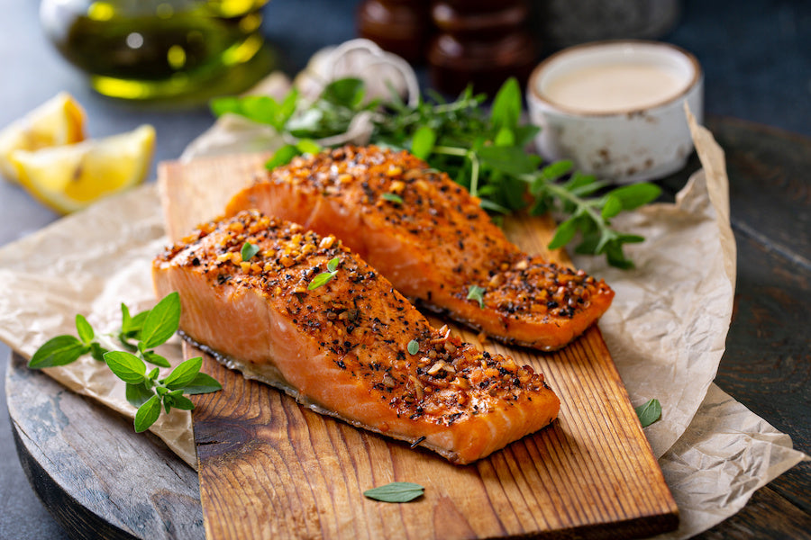Easy Dinner Recipes: Sesame Maple Glazed Salmon