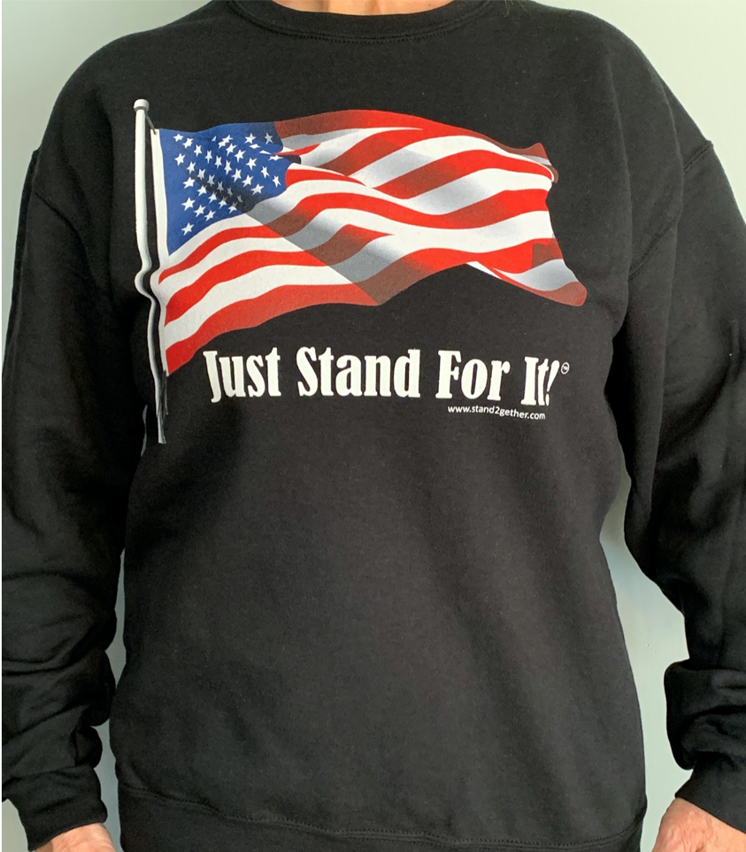 Just Stand For It Crew Neck Sweatshirt