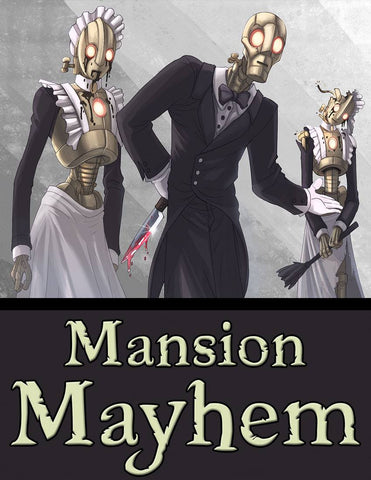 Mansion Mayhem - Tephra PDF Adventure