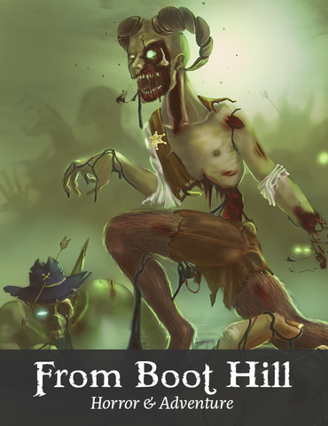 From Boot Hill - Tephra PDF Adventure