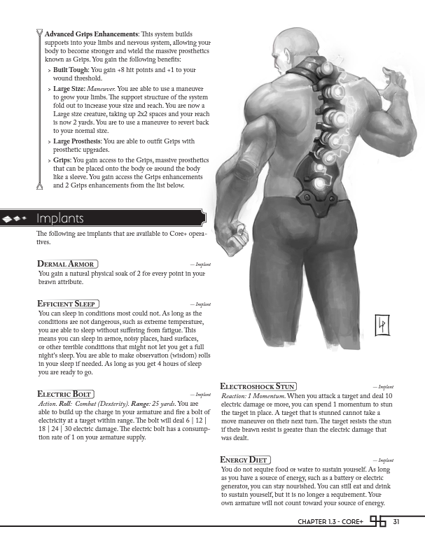 Muscle chap takes charge