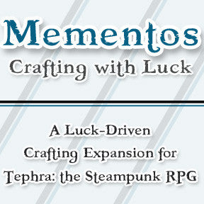 Mementos - Tephra PDF Supplement