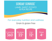 Load image into Gallery viewer, Solid Gold - Sunday Sunrise - Grain-Free Natural Lamb, Sweet Potato and Pea - Iron Rich - Holistic Adult Dog Food