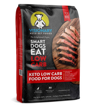Load image into Gallery viewer, Visionary Pet - Keto Dog Food | Low Carb Kibble | High Protein | Natural Beef Flavor | Grain Free Dry Dog Food with Natural Formula for Lifelong Health & Happiness