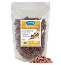 Load image into Gallery viewer, Freeze Dried Complete Turkey Pet Food for Dogs & Cats, 16 oz