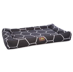 Geo Onyx Indoor/Outdoor Cuddler Dog Bed