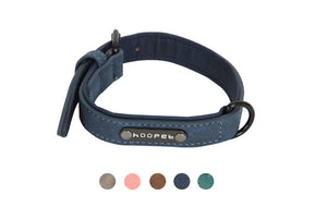 Reflective Leather Five Colors Adjustable Size Dog Collar