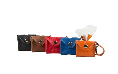 Leather Pick Up Bag Holders-Pets