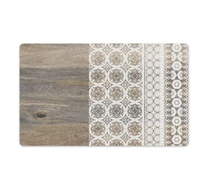 Mororccan Wood Pet Placemat