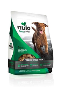 Nulo Freestyle Grain-Free Duck Recipe With Pears Freeze-Dried Raw Dog Food