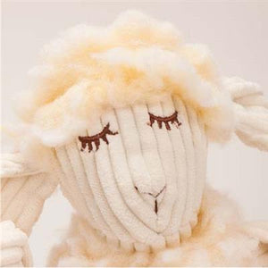 Hugglefleece Fluffer-Knottie, Louise the Lamb Dog Toy