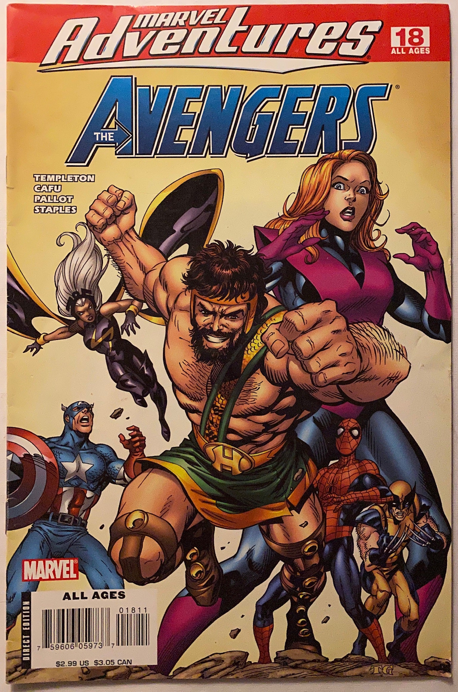 MARVEL ADVENTURES: AVENGERS 18