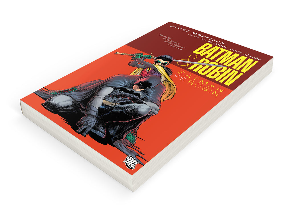 BATMAN & ROBIN: BATMAN vs ROBIN TPB