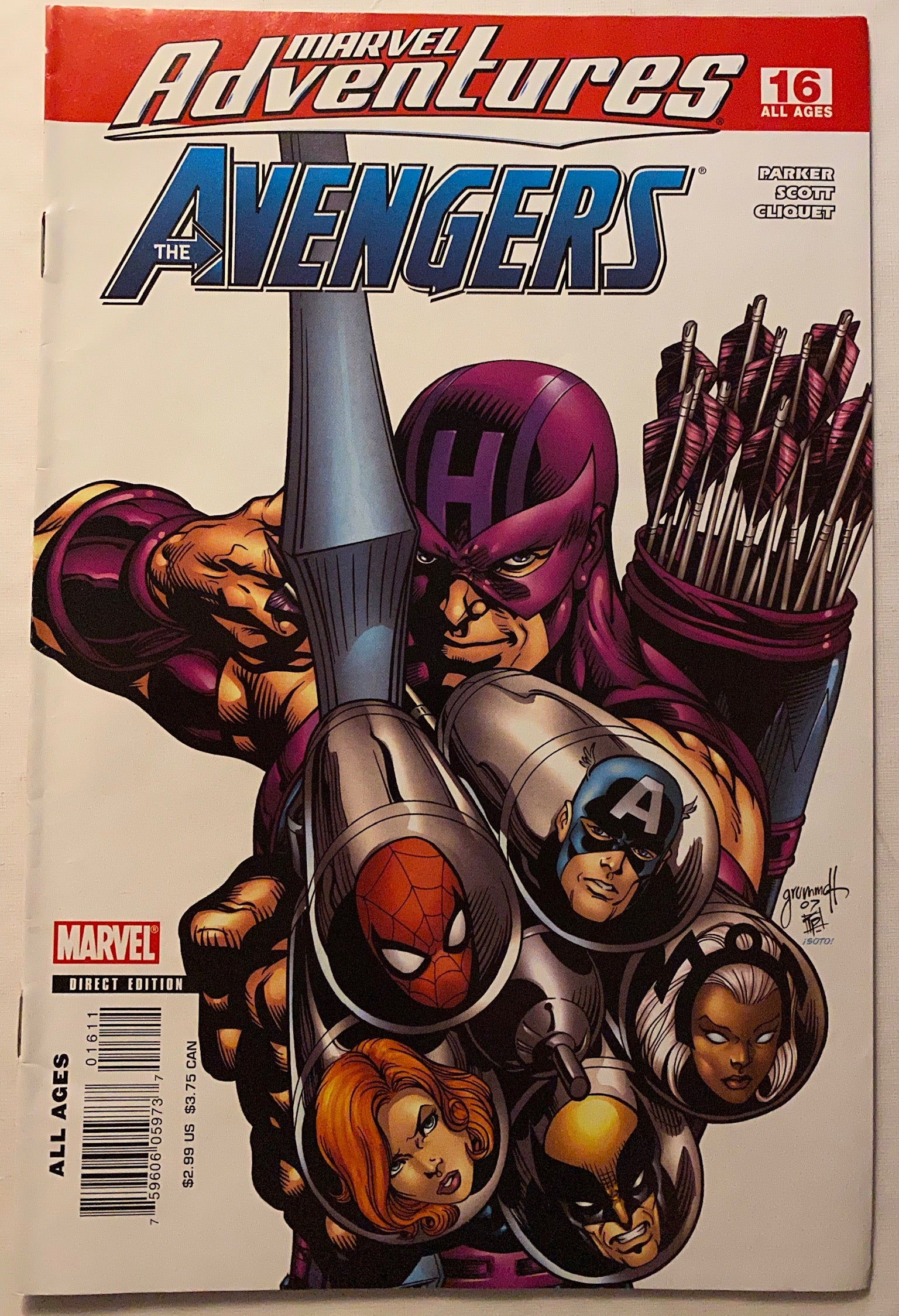 MARVEL ADVENTURES: AVENGERS 16