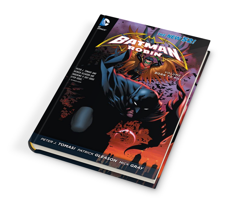 BATMAN & ROBIN (NEW 52) HC 1: BORN TO KILL