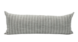 Extra Long Ethnic Grey Green Pillow Cover - Krinto.com