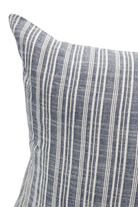 Ethnic Blue and White Extra Long Lumbar Pillow Cover - Krinto.com