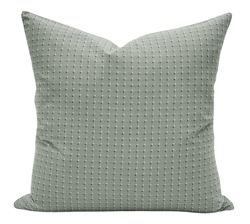 Sage Green Woven Pillow Cover - Krinto.com