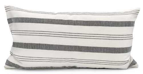 Lima Stripe Pillow Cover Lumbar - Krinto.com