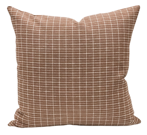 Hiroki in Dusty Mauve Pillow Cover - Krinto.com