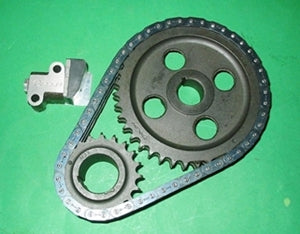 TIMING CHAIN GEAR KIT MGA MGB INCL TENSIONER & CAST GEARS - INCLUDES DELIVERY