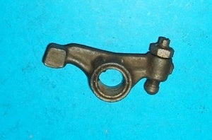 SET OF 8 - ROCKER ARM & BUSH MGB (BENT BACK) ORIGINAL EQUIPMENT NEW OLD STOCK - INCLUDES DELIVERY