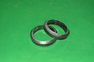 PAIR - GASKET EXHAUST FLANGE MGB ALL + MGBV8 - INCLUDES DELIVERY