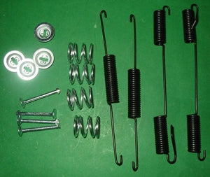 BRAKE SPRING KIT MGB MGBV8 16 PIECE - INCLUDES DELIVERY
