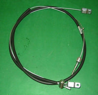 HANDBRAKE CABLE MGB MKII CHROME BAR WIRE WHEEL - INCLUDES DELIVERY
