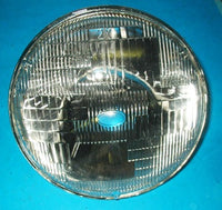 "PAIR - HEADLAMP LIGHT UNIT SEALED BEAM 7"" MGA MGB SPRITE MIDGET MINI T-TYPE ZA ZB - INCLUDES DELIVERY"