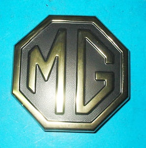 MG BADGE BOOT LID GOLD METAL 1 PIECE - INCLUDES DELIVERY
