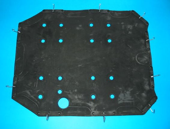 SEAT DIAPHRAGM SPRITE MIDGET >69 MGB >72 UK >70 WITH CLIPS - DELIVERY INCLUDED