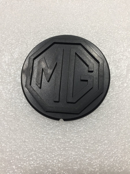 BADGE STEERING WHEEL MG LOGO MGB SEPTEMBER 1976 > - INCLUDES DELIVERY