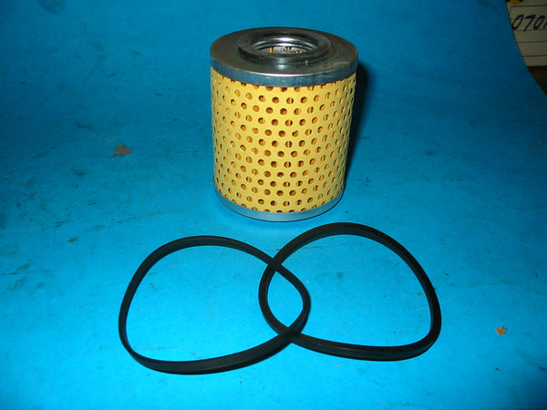 2 X OIL FILTER ELEMENTS MG MIDGET SPRITE MINI PAPER TYPE - INCLUDES DELIVERY