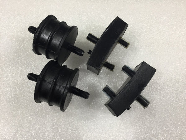 SET OF 4 - ZA ZB ENGINE AND GEARBOX MOUNTS - INCLUDES DELIVERY